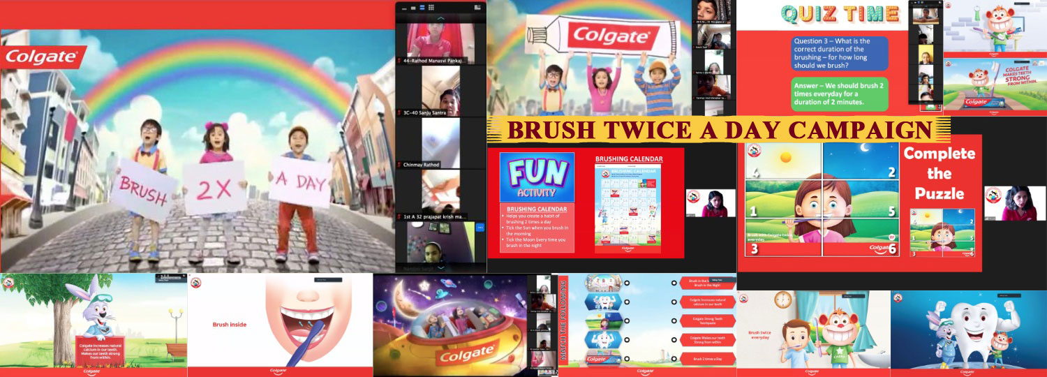 Brush Twice A Day Campaign